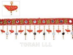 Decorative Velvet Toran