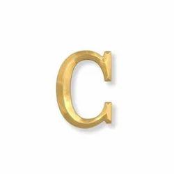 Brass Letter Board