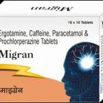 Migran Tablets , Ergotamine