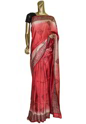 Border Matka Silk Saree