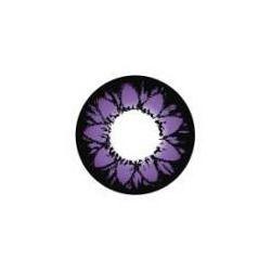 Purple Petal Color Contact Lens
