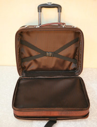 leather laptop trolley bags inside portion