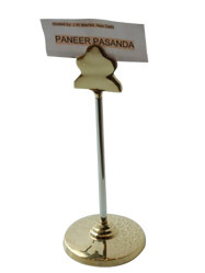Menu Stand/ Table Number Stand 2 Tone