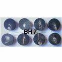 BH 7 Buffalo Horn Button Blanks