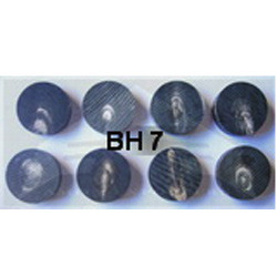 BH 7 Buffalo Horn Button Blanks