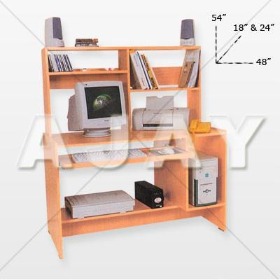 Book Self Computer Table