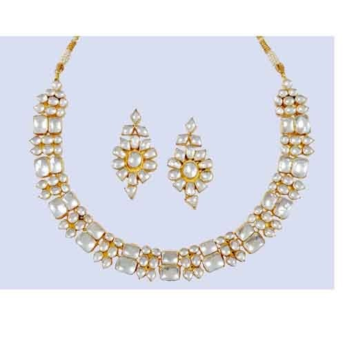 Necklace Earring Set II Latest Indian Jewellery SetsHandcrafted