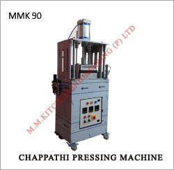 semi cook chapathi pressing machine