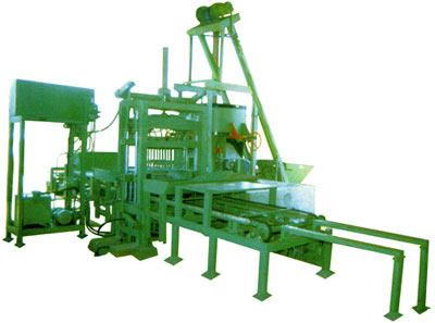 High Density Block Making Machine