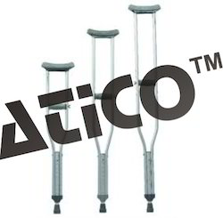 Under Arm Crutches Aluminium