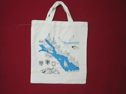Map Designed Cotton  Bags