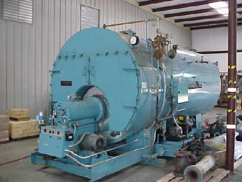 LPG Fired Steam Boiler