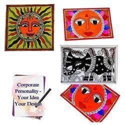 Madhubani Paintings - Folk Painting Greeting Cards