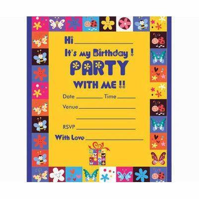 Invitation card birthday invitation card manufacturer from mumbai birthday invitation card stopboris Image collections