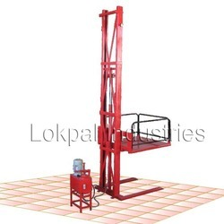 wall mounted stacker single mast