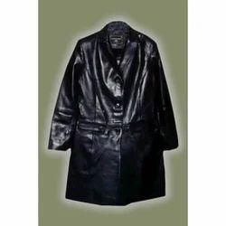 Black Leather Long Coats
