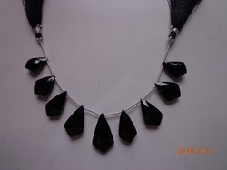 Black Onyx Tie Briolette