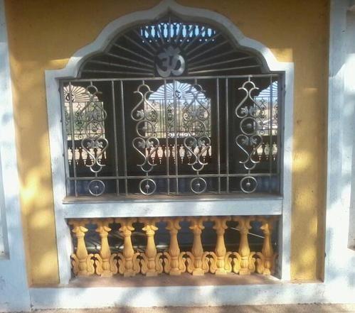 Stainless Steel Mandir Window Grill