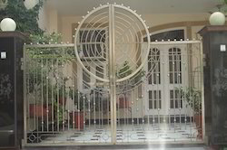 Steel Gates For Security