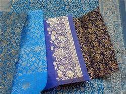 Brocade Silk Fabrics for Wedding Invitation Designers,