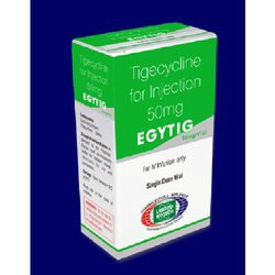 Egytig 50mg  (Tigecycline 50mg Vial)