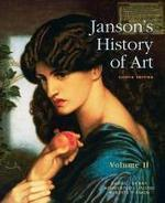 Janson s History Of Art Volume II The Western Tradition