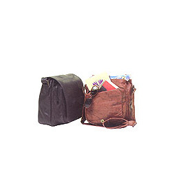 Brown Leather Organizer Bags