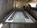 Screen Printing Glass Table