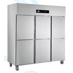 Stainless Steel Freezer Six Door