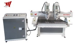 Double Head CNC Wood Carving Router Machine