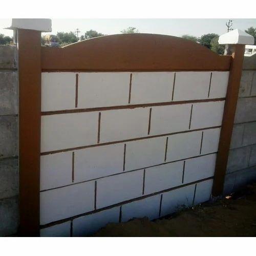 RCC Readymade Compound Wall. Compound Boundary Wall   Concrete RCC Folding Ready Made Boundary