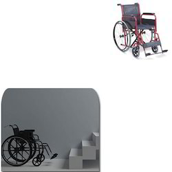 Manual Folding Wheelchair for Stairs