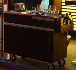 Bar Service Trolley