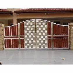 Kothi Main Gate Manual Steel Gate Jamia Nagar Delhi