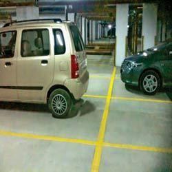 parking lot marking paint