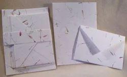 Flower Mottled Handmade Paper Correspondene Stationery Sets