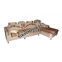 Imported Corner Sofa Set S S - Fabric
