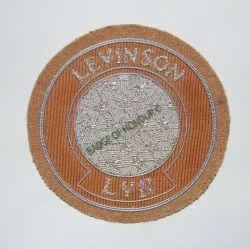 Levin Son Hand Embroidered Blazer Badge