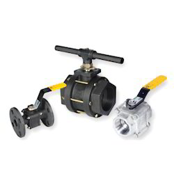 Three Piece Ball Valves Regular Bore