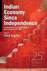 Indian Economy Since Independence - Book
