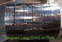 Hologram Secure Label Rolls