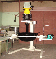 Stand Mounted Agitator With The Tilting Kettle