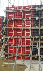 Formwork Panel With Steel Frame
