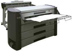 Large Format Copier with Printer