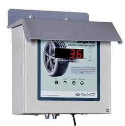 led digital tyre inflator wall mountable