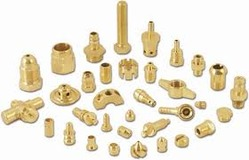 Brass Precision CNC Components