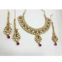 Gold Heavy Necklace Set