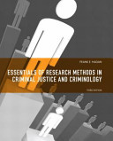 Essentials Of Research Methods In Criminal Justice