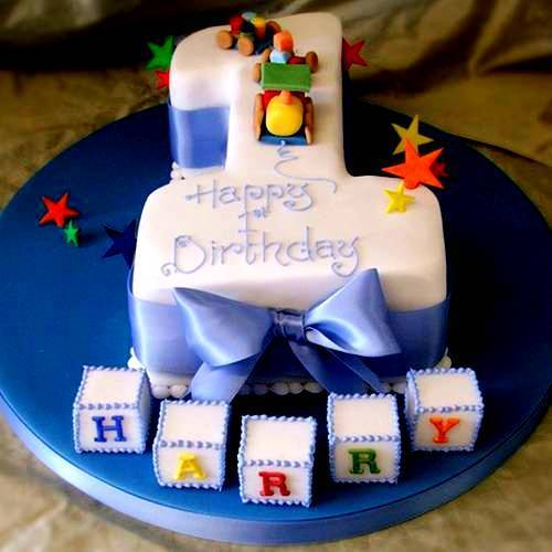 1st birthday cakes for boys india