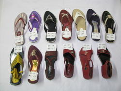 PU Leather Ladies Sandal